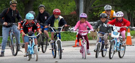 Pierwszy rower dla dziecka